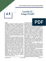 Triage START - APAA