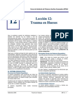 Trauma en Huesos - APAA