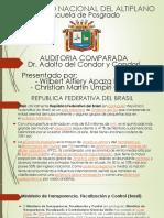 Auditoria Comparada Brasil