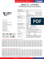 Bateria Gd33-12 Kuhn