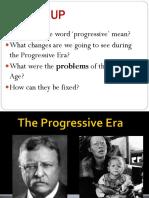 Progressive Era Part. 1