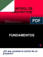Fundamentos - Control de Proyectos