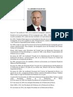 Vladímirovich Putin Biografia