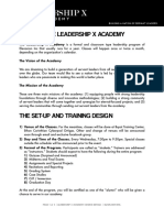 Leadership x Academy