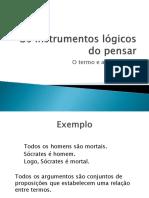Os instrumentos lógicos do pensar.pptx