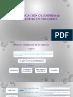 Empresa e Impuestos en Colombia