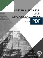 Naturalezaypropositodelasorganizaciones fundamentos de administración