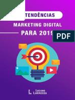 eBook 7 Tendencias Do Marketing Digital Para 2019