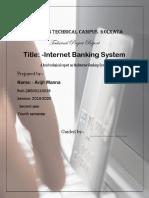 Digital Banking System