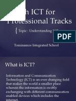 E Tech ICT for Professional Tracks