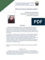 Artículo Científico, Perfil Del Cientifico - Jhasmely