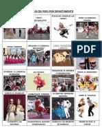 Danzas Del Perú Por Departamento