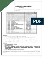Afiche LLAMADO Postulación 201810 (002)