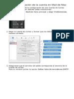 Editar La Configuración de La Cuenta en Mail de Mac