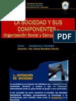 Sociedad,Componentes,Organizaciòn Social y Estructura Social