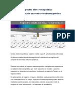 2.-El Espectro Electromagnetico,Generacion de Una Onda Electromagnetica