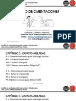 2-8 T Diseño de Zapatas
