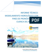 Modelo Hidrologico Rio Coata