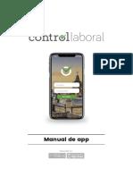 Manual de App - Control Laboral