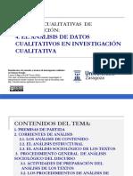 Metodos y Tecnicas de Analisis de Discursos