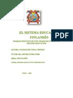 Finlandia Peru Trabajo
