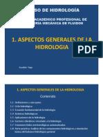 1-Aspectos Generales de La Hidrologia