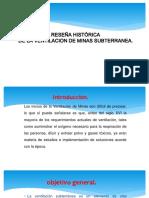 1. Reseña Historica Ventilación de Minas