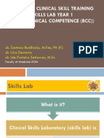 Overview Clinical Skill Training-Basic Clinical Competence-Santosa B-Liza D-Ide Pustaka S-2014