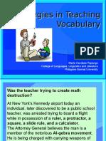 Arczone Vocabulary Presentation