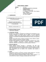 Ficha Técnica - Asinet