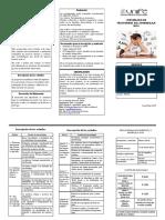 Diplomado Trastornos Aprendizaje 2018
