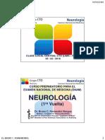 Cto Neurología Enam 1v y 2v (Dr. b. Fernandini b.)