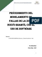 Procedimiento de Modelamiento de Fallas