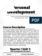 Personal Development Intro