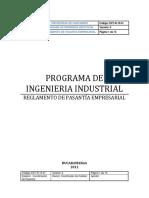 EXT R 15 01 Reglamento Pasantia Empresarial