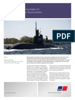 Battery Charging Technologies for Advanced Submarine Requirements