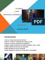 Organizacion de Evento