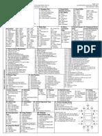 2018 Cr 3 Code Sheet