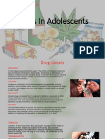 Drugs in Adolescents