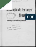 Antología de Lecturas Filosóficas
