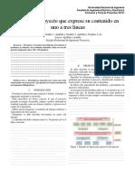 FIEE 2019.1 Formato de Articulo Tecnico