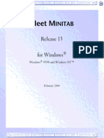 Manual MINITAB Referencias