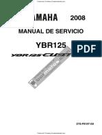 Manual de Servicio Yamaha Ybr 125 2008