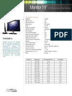Lanix Monitor 19 LED Widescreen v3