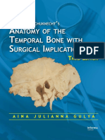 Anatomy of temporal bone and surgical implications