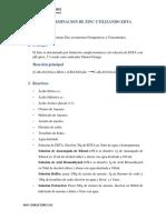 Determinacion de Zinc Utilizando EDTA 4