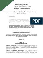 R MPS Resolución 1403 2007