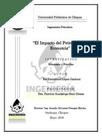El Impacto Del Petróleo en La Economía