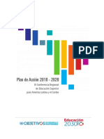 CRES - Plan de acción 2018