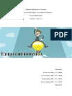 Tipos de Emprendimiento